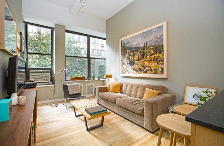 Sold One Bedroom Loft Overlooking Treetops On Best